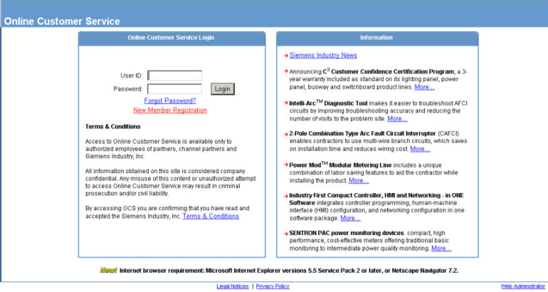Servicelink login